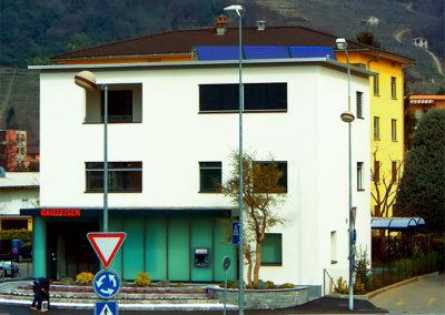 Ristrutturazione Banca Raiffeisen Lamone
